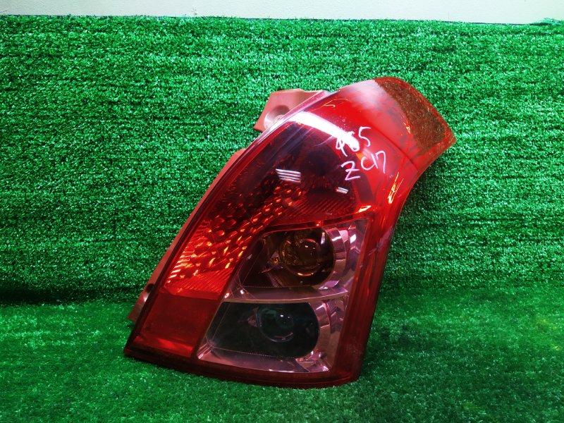 Стоп-сигнал Suzuki Swift ZC71S K12B 2009 правый (б/у)
