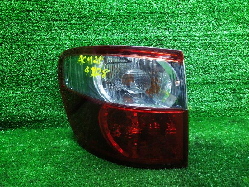 Стоп-сигнал Toyota Ipsum ACM21 2AZFE 2005 левый (б/у)
