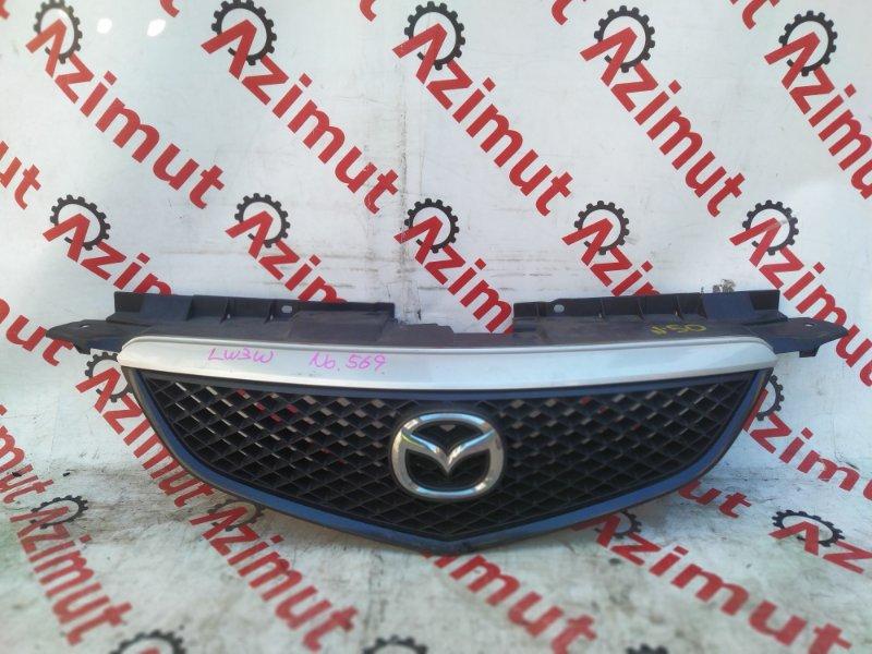 Решетка радиатора Mazda Mpv LW3W L3DE 2003 (б/у) LD4750712