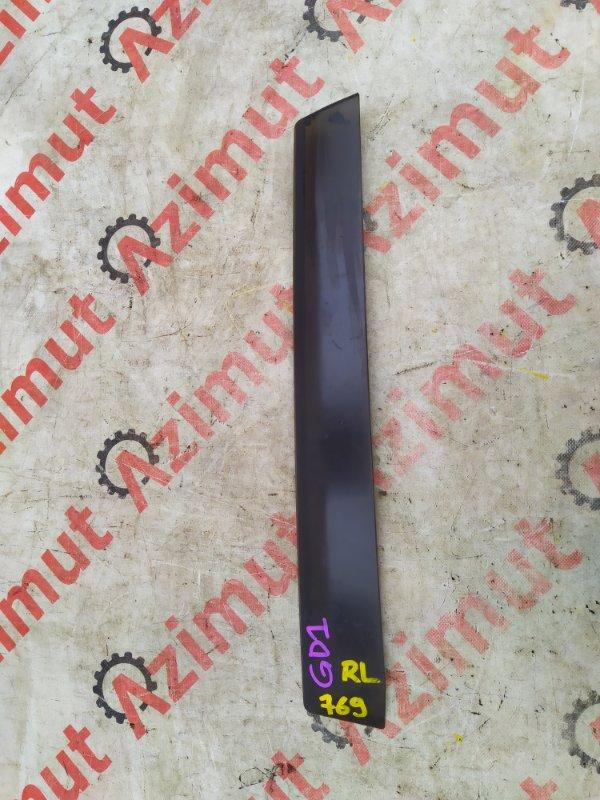 Ветровик Honda Fit GD1 задний левый (б/у)