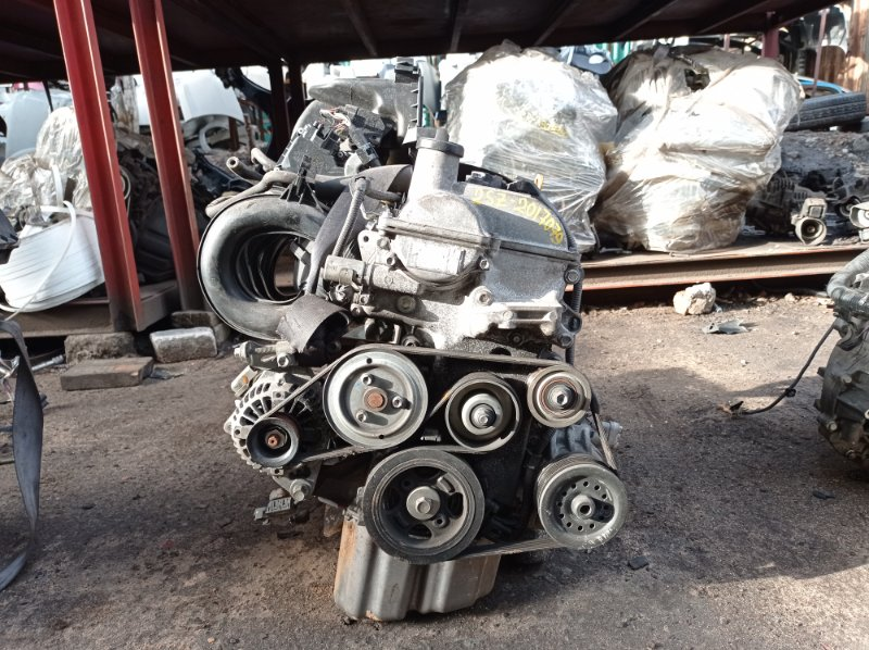 Двигатель Toyota Ractis SCP100 2SZFE 2007 (б/у)