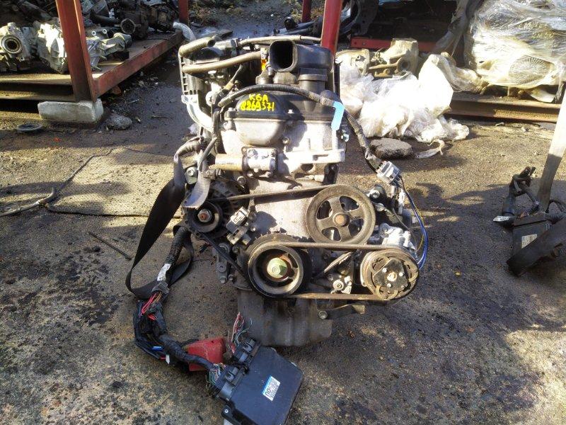 Двигатель Suzuki Alto HA25S K6A 2010 (б/у)
