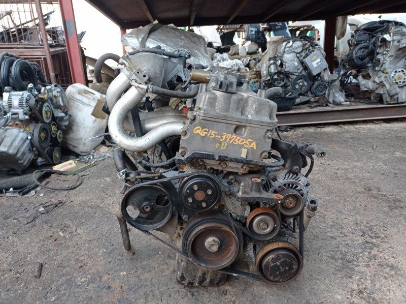 Двигатель Nissan Sunny FB15 QG15DE 2002 (б/у)