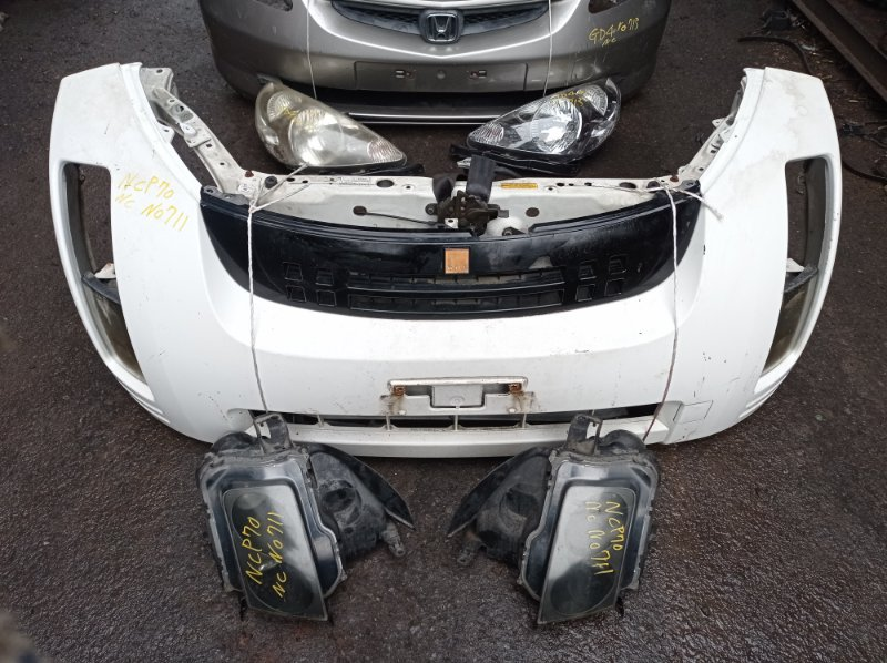 Nose cut Toyota Will Cypha NCP70 2NZFE 2004 передний (б/у)