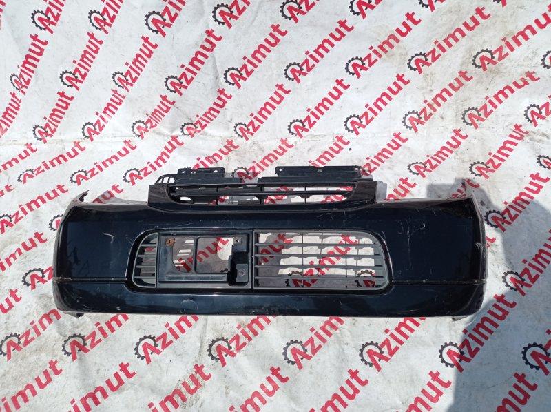 Бампер Suzuki Kei HN22S K6AT 2003 передний (б/у)