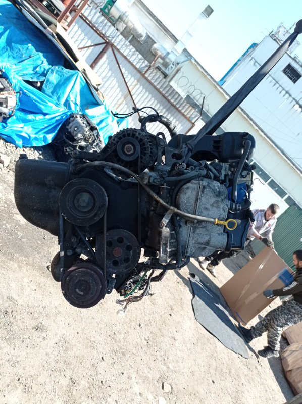 Двигатель Suzuki Mr Wagon MF21S K6A 2002 (б/у)