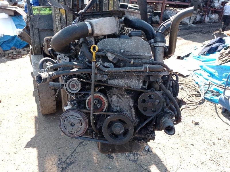 Двигатель Suzuki Jimny JB23W K6A-T 2001 (б/у)