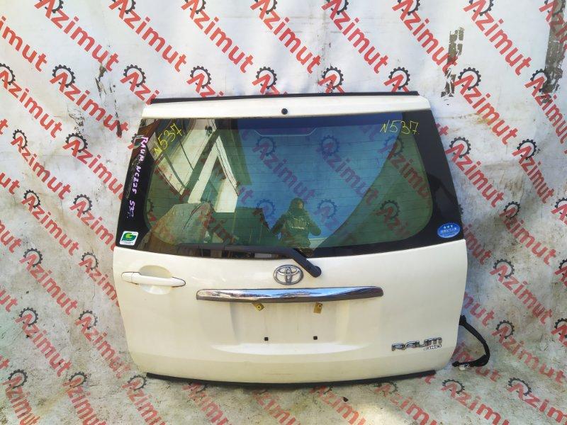 Дверь задняя Toyota Raum NCZ25 1NZFE 2004 (б/у)