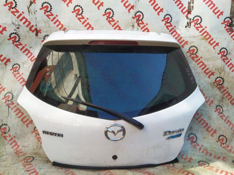 Дверь задняя Mazda Demio DEJFS 2012 задняя (б/у)
