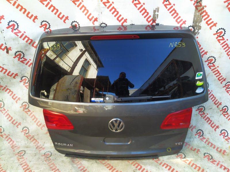 Дверь задняя Volkswagen Touran 1T3 CAVC 2012 (б/у)