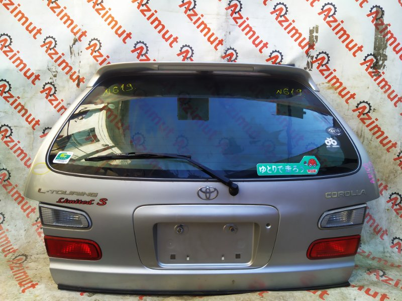 Дверь задняя Toyota Corolla AE100 5AFE 2000 (б/у)