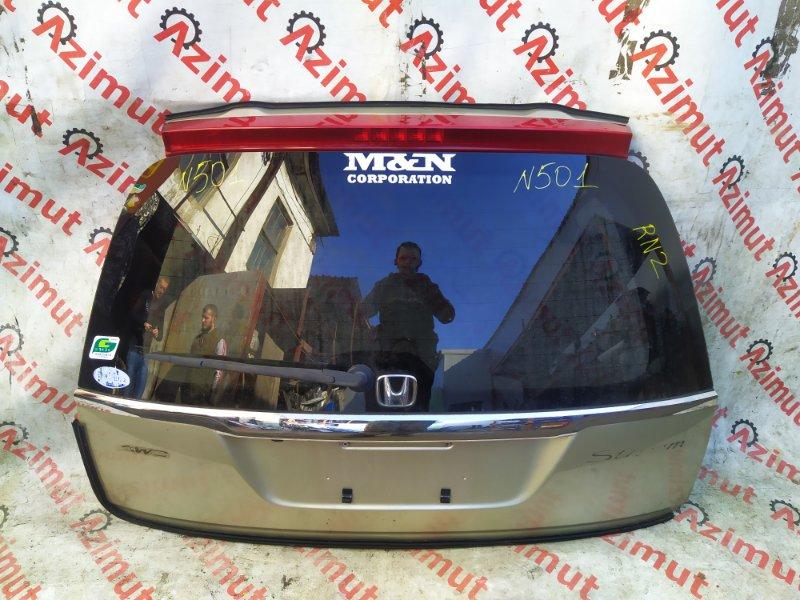 Дверь задняя Honda Stream RN2 2003 (б/у)