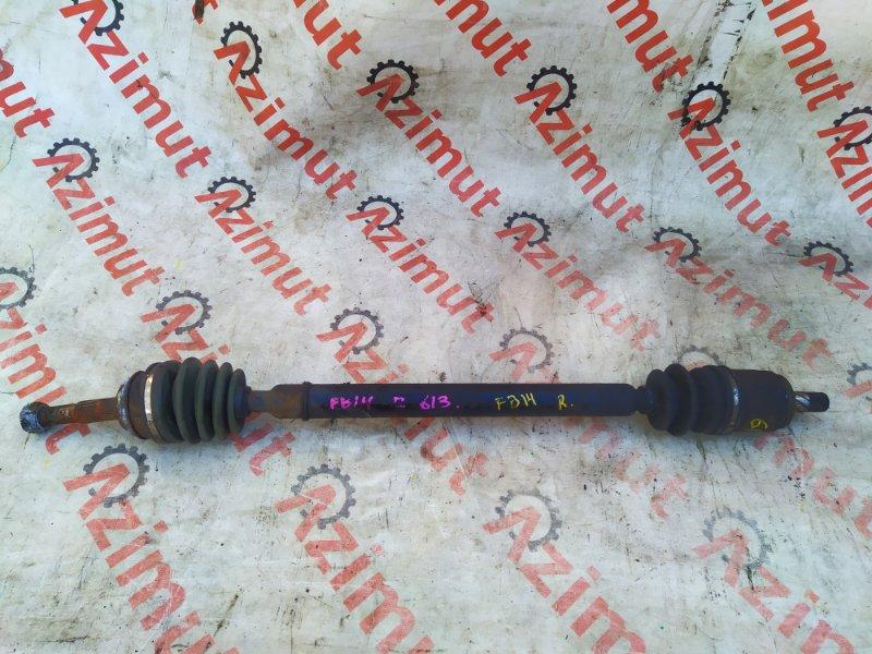 Привод Nissan Sunny FB14 GA15DE 11/1995 передний правый (б/у) 391000M311