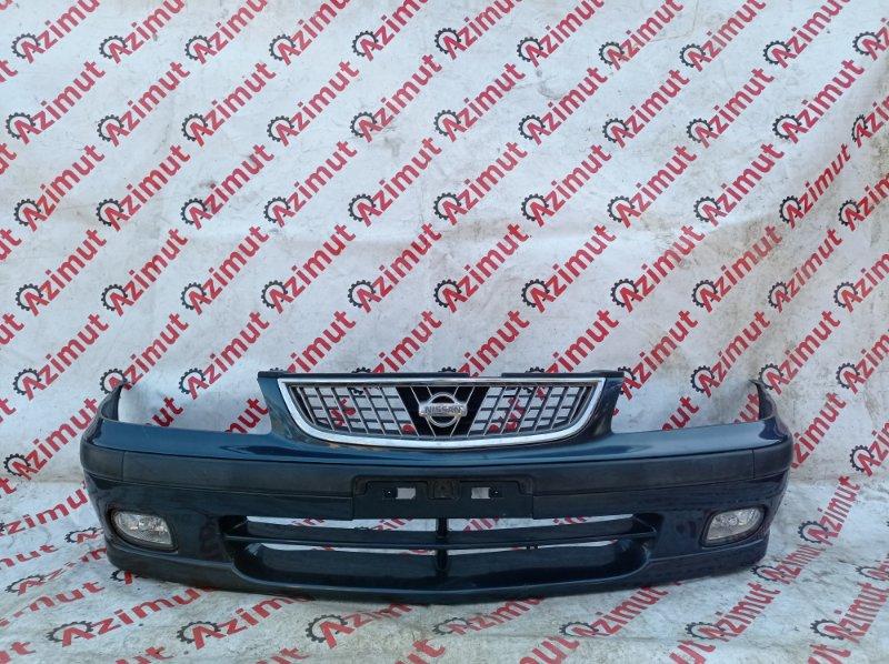 Бампер Nissan Sunny FB15 QG15DE 1999 передний (б/у)