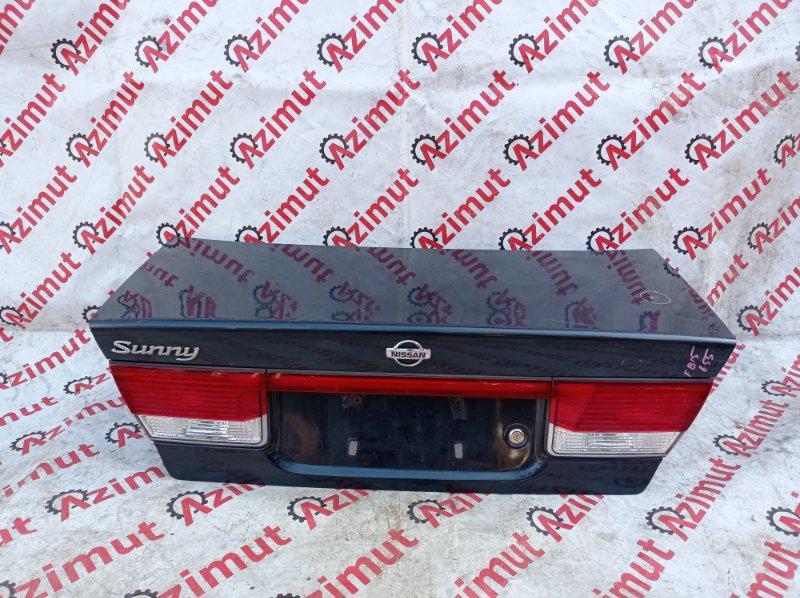 Крышка багажника Nissan Sunny FB15 QG15DE 1999 (б/у)