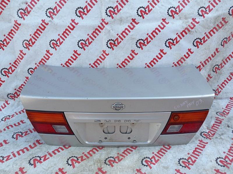 Крышка багажника Nissan Sunny FB14 GA15DE 11/1995 (б/у)
