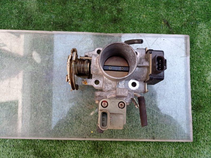 Заслонка дроссельная Toyota Corsa EL55 5EFE 06.1996 (б/у)