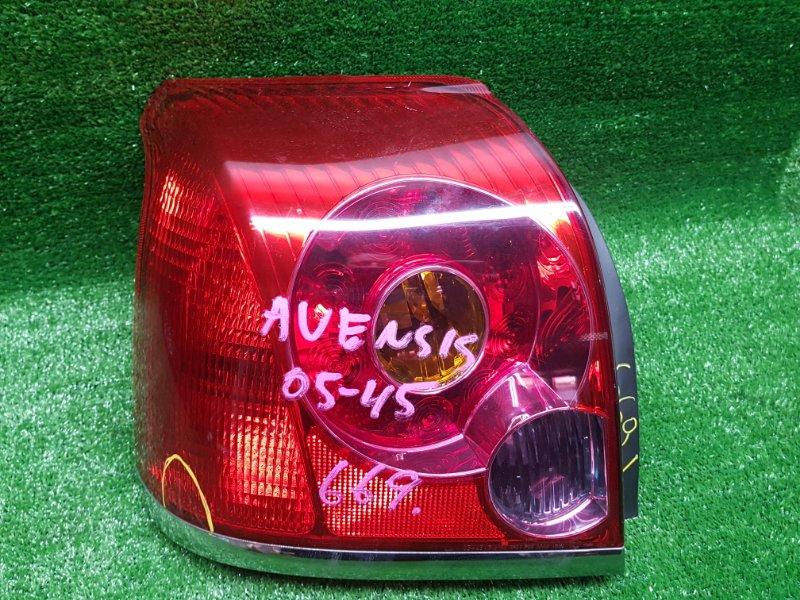 Стоп-сигнал Toyota Avensis AZT255 1AZFSE 2003 задний левый (б/у) 05-45
