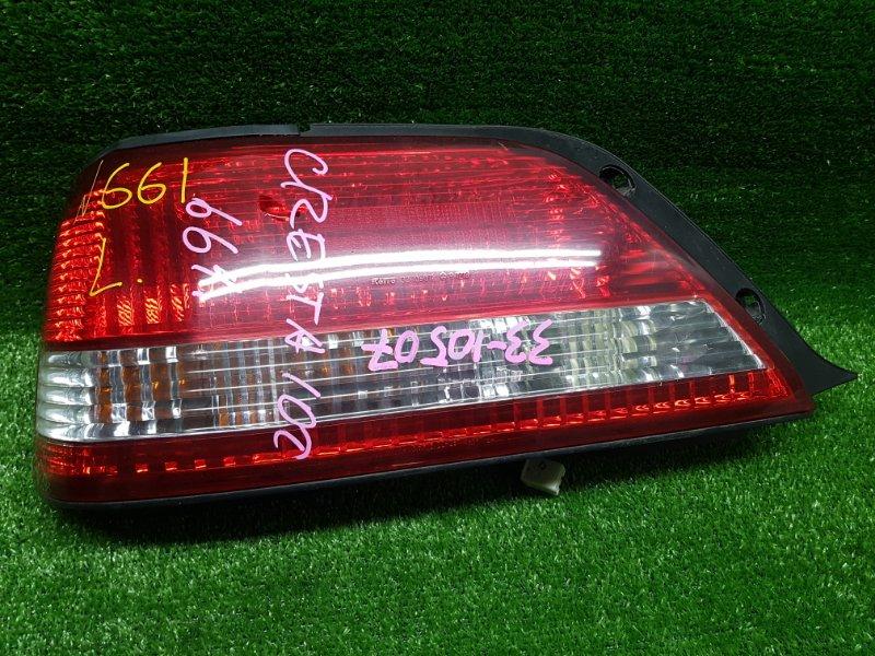 Стоп-сигнал Toyota Cresta GX100 1GFE 1997 задний левый (б/у) 22261 22261