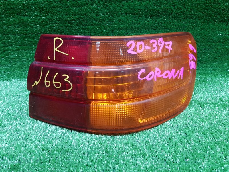 Стоп-сигнал Toyota Corona Premio ST210 3SFSE 2000 задний правый (б/у) 20-397