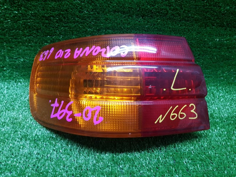 Стоп-сигнал Toyota Corona Premio ST210 3SFSE 2000 задний левый (б/у) 20-397