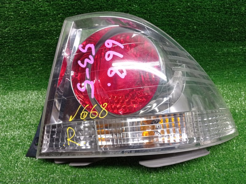 Стоп-сигнал Toyota Altezza GXE10 1GFE 1999 задний правый (б/у) 53-5