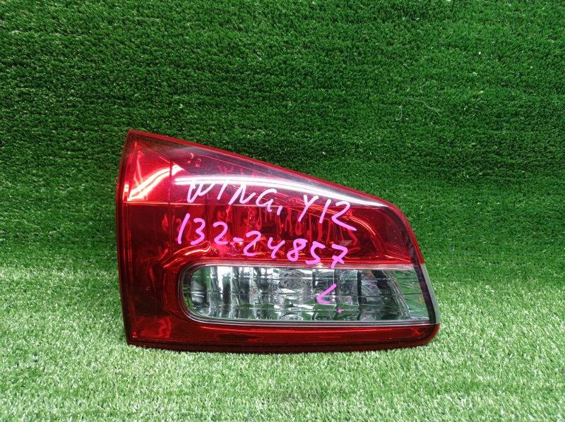 Стоп-вставка Nissan Wingroad Y12 HR15DE 2005 задняя левая (б/у)