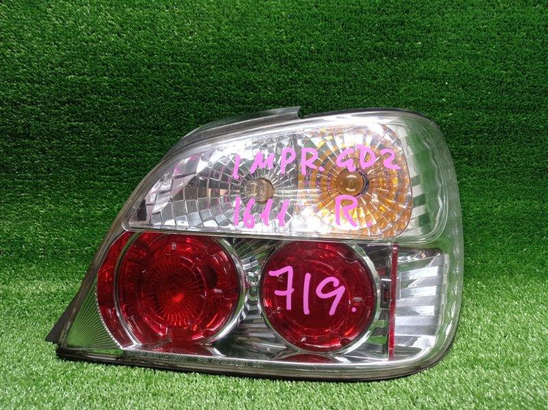 Стоп-сигнал Subaru Impreza GD2 EJ152DX 10/2003 задний правый (б/у)