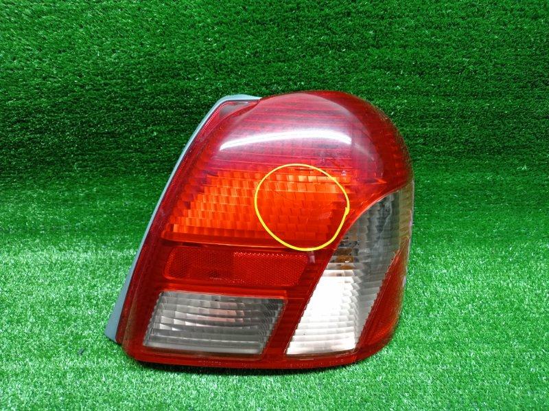 Стоп-сигнал Toyota Platz NCP16 2NZFE 1999 задний правый (б/у) 52013