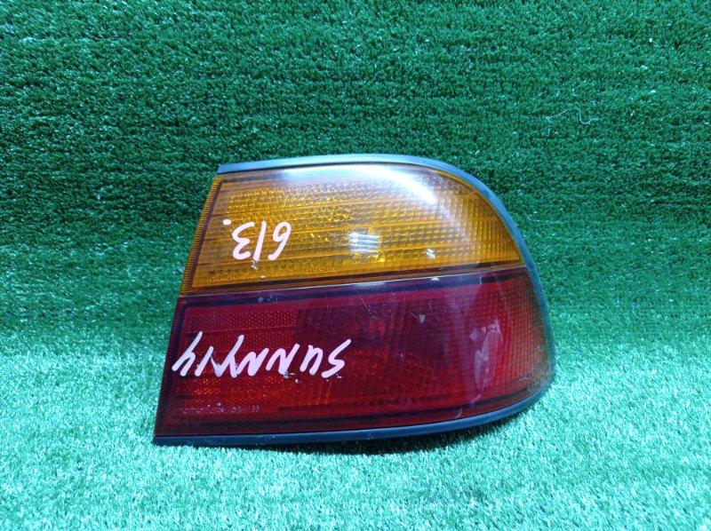 Стоп-сигнал Nissan Sunny FB14 GA15DE 11/1995 задний правый (б/у) 7411