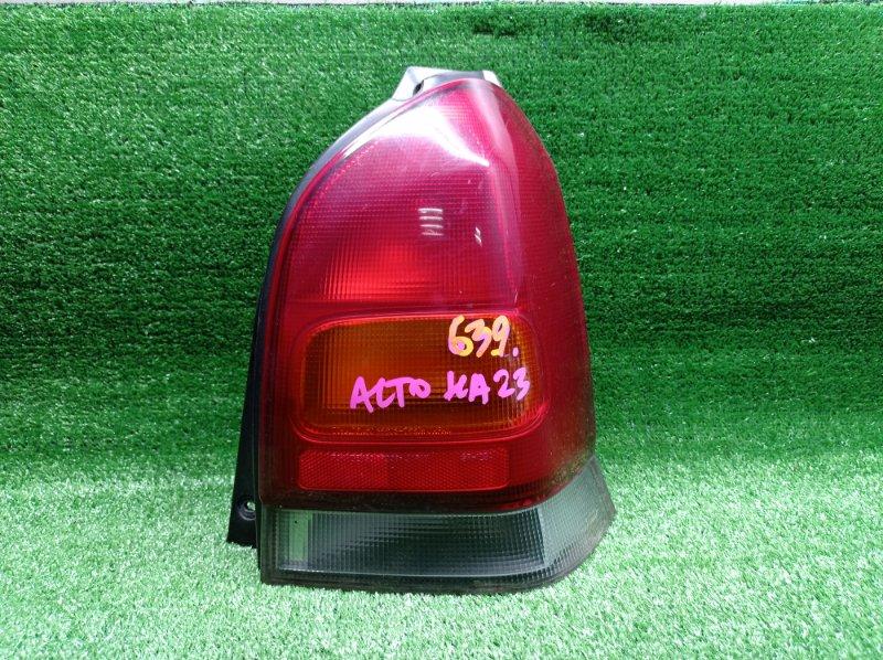Стоп-сигнал Suzuki Alto HA23 K6A 2002 задний правый (б/у)