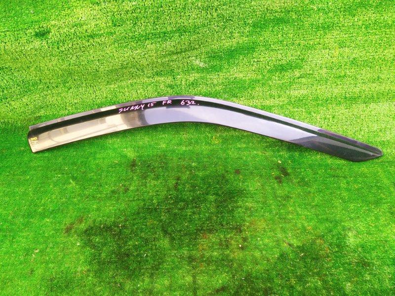 Ветровик Nissan Sunny FNB15 QG15DE 2001 передний правый (б/у)