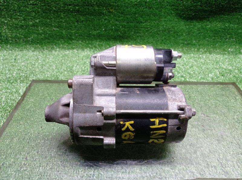 Стартер Suzuki Kei HN22S K6A (б/у) 3110076G10
