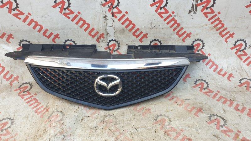Решетка радиатора Mazda Mpv LW3W L3DE 2002 (б/у)