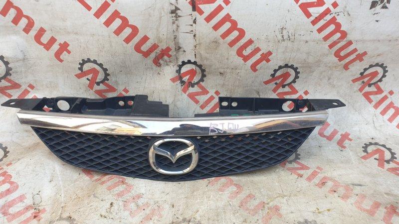 Решетка радиатора Mazda Familia BJ5W ZLVE 2002 (б/у)