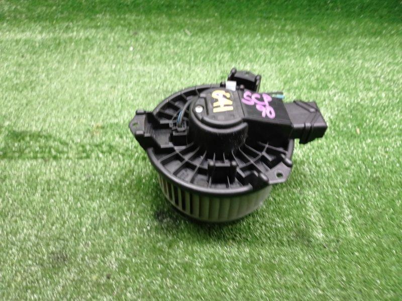 Мотор печки Toyota Vitz SCP90 2SZFE 2006 (б/у)