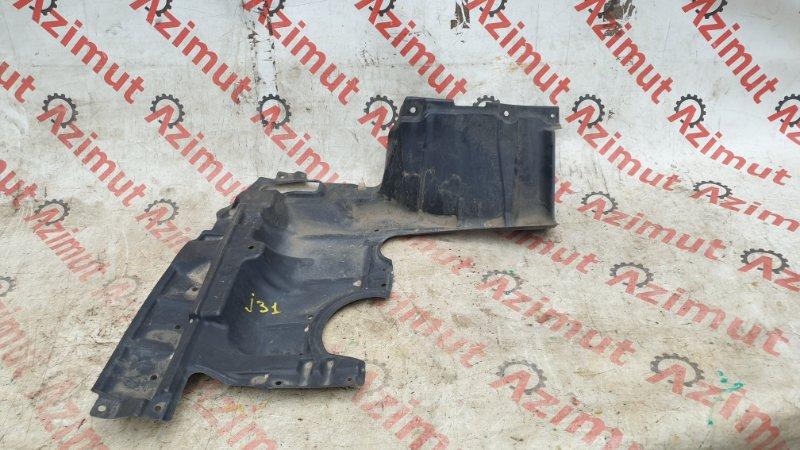 Защита двигателя Nissan Teana J31 VQ23DE 2004 правая (б/у)