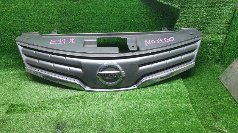 Решетка радиатора Nissan Note E11 HR15DE 2009 (б/у) 62310VY20A