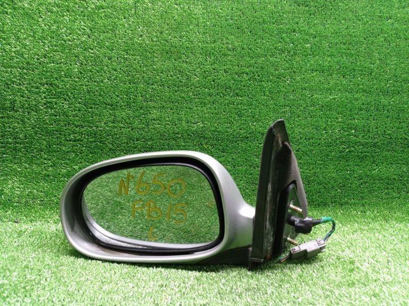 Зеркало Nissan Sunny FB15 QG15DE 2002 левое (б/у)
