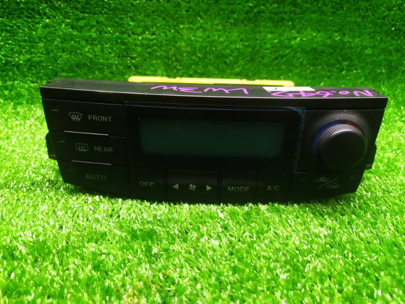 Блок управления климат-контролем Mazda Mpv LW3W L3DE 2002 (б/у)