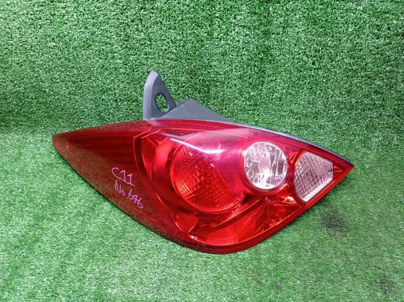 Стоп-сигнал Nissan Tiida C11 HR15DE 2010 задний левый (б/у) 4086