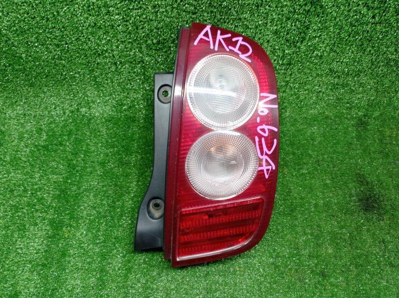 Стоп-сигнал Nissan March AK12 CR12DE 2005 задний правый (б/у)
