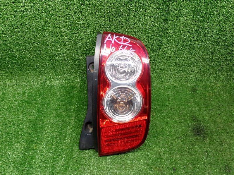 Стоп-сигнал Nissan March AK12 CR12DE 2007 задний правый (б/у)