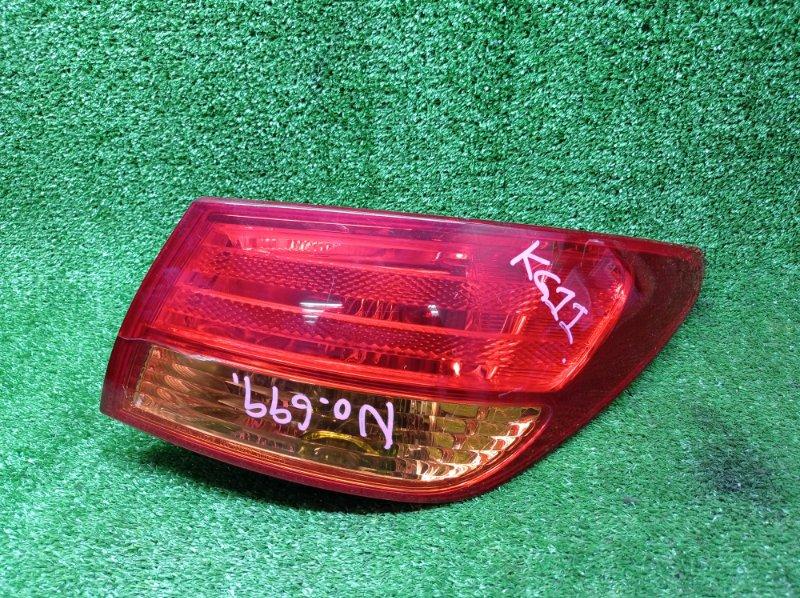 Стоп-сигнал Nissan Bluebird Sylphy KG11 MR20DE 2006 задний правый (б/у)