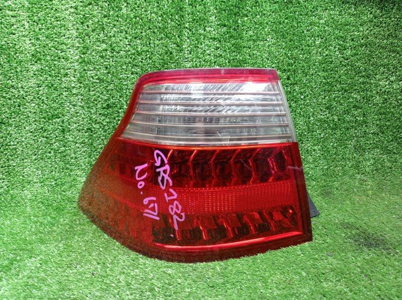 Стоп-сигнал Toyota Crown GRS182 3GRFSE 12.2005 левый (б/у)