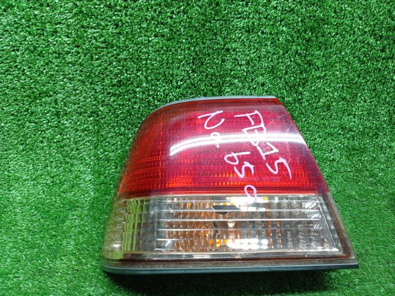Стоп-сигнал Nissan Sunny FB15 QG15DE 2002 левый (б/у) 4845