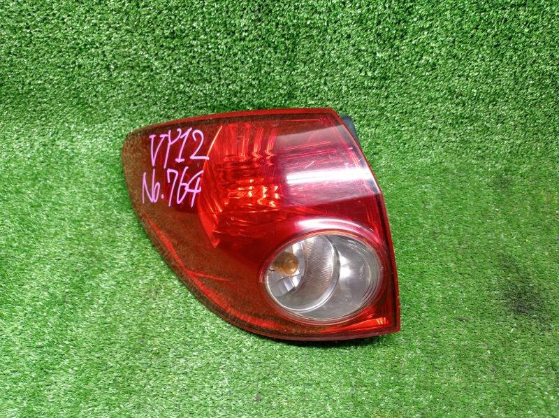 Стоп-сигнал Nissan Ad NY12 HR15DE 2006 левый (б/у)