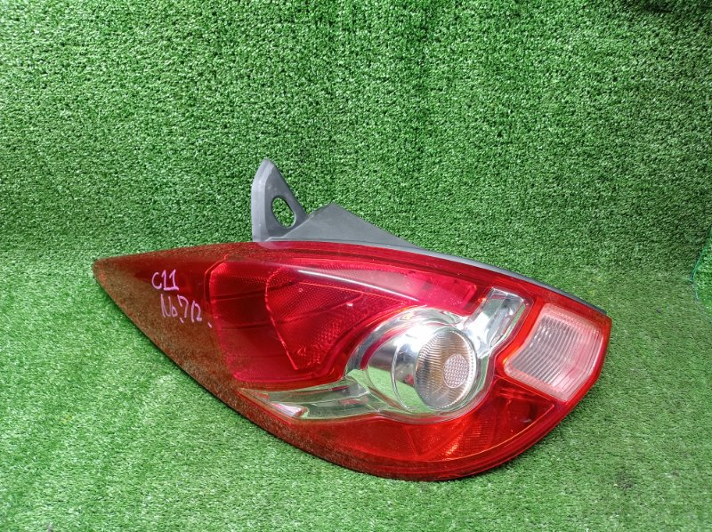 Стоп-сигнал Nissan Tiida C11 HR15DE 2009 левый (б/у) 7511