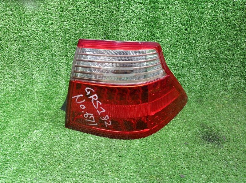 Стоп-сигнал Toyota Crown GRS182 3GRFSE 12.2005 правый (б/у)