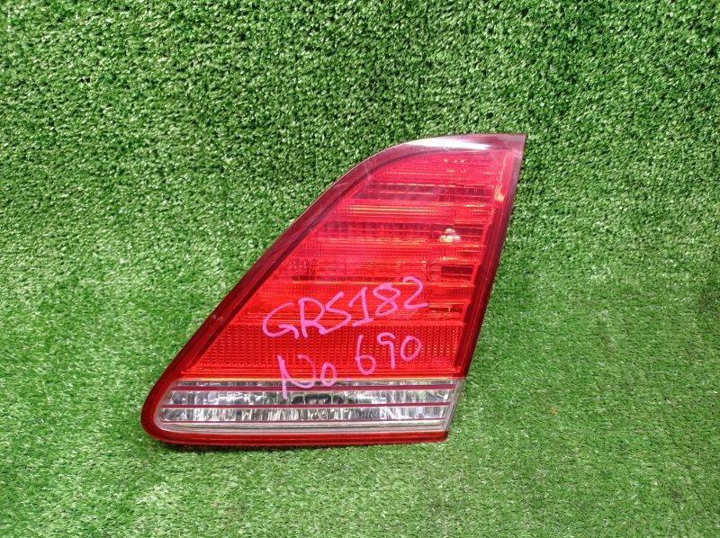 Стоп-вставка Toyota Crown GRS182 3GRFSE 2003 правая (б/у)